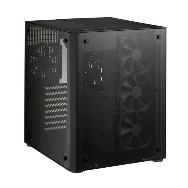 Lian Li PC-O8WX Mid Tower eATX Case - Black Malaysia