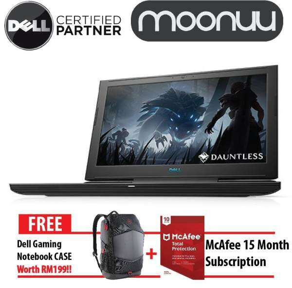 Dell Inspiron Gaming G7 15 7588 G7-83814GFHD-W10-1050 Black and White Notebook High Performence Laptop (Intel Core i5-8300H Up to 4.0GHz / 8GB DDR4 2666Mhz / 1TB + 8GB / 15.6 inch FHD /NVIDIA GTX 1050 4G / W10) W56791801MYW10 Malaysia