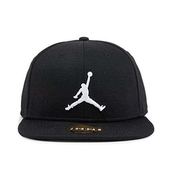 1d5971c76f55 ... promo code for nike mens jordan jumpman snapback hat black white 861452  013 intl philippines 03301