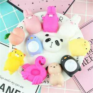 Hình thu nhỏ sản phẩm Mini Animals Squeeze Mochi Slowing Rising Toy Soft Stress Relief Funny Gift Pattern: A1