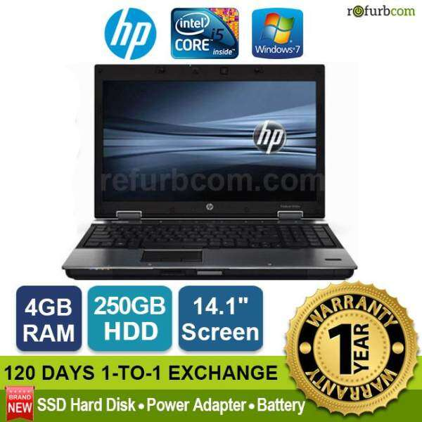 HP ELITEBOOK 8440P / INTEL CORE I5 1ST GEN (250GB SATA HDD) Malaysia
