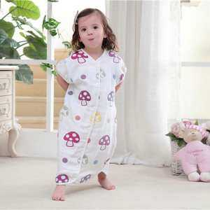 Baby Sleeping Bags For Spring Summer Thin Cute Children Catroon Pattern Sleep Sack For Kids Cotton Soft 1 - intl
