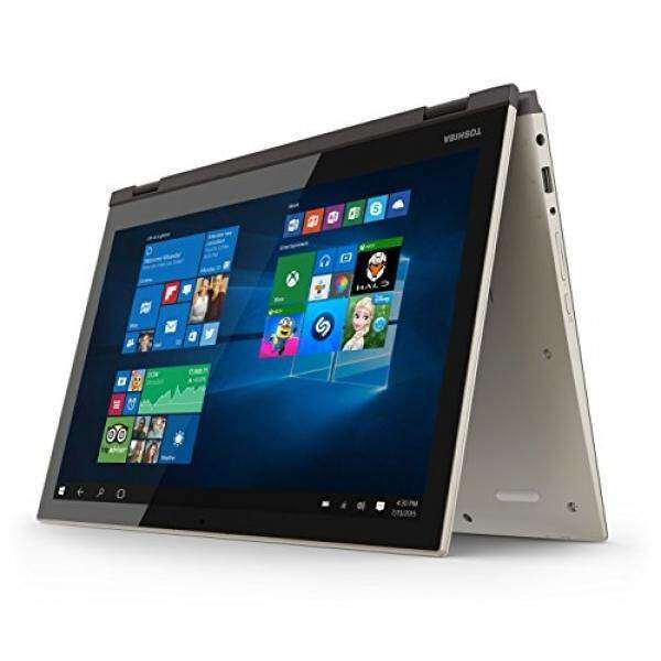 Toshiba Satellite Fusion 55W-C5257 15.6-Inch Convertible 2 in 1 Touchscreen Laptop Malaysia