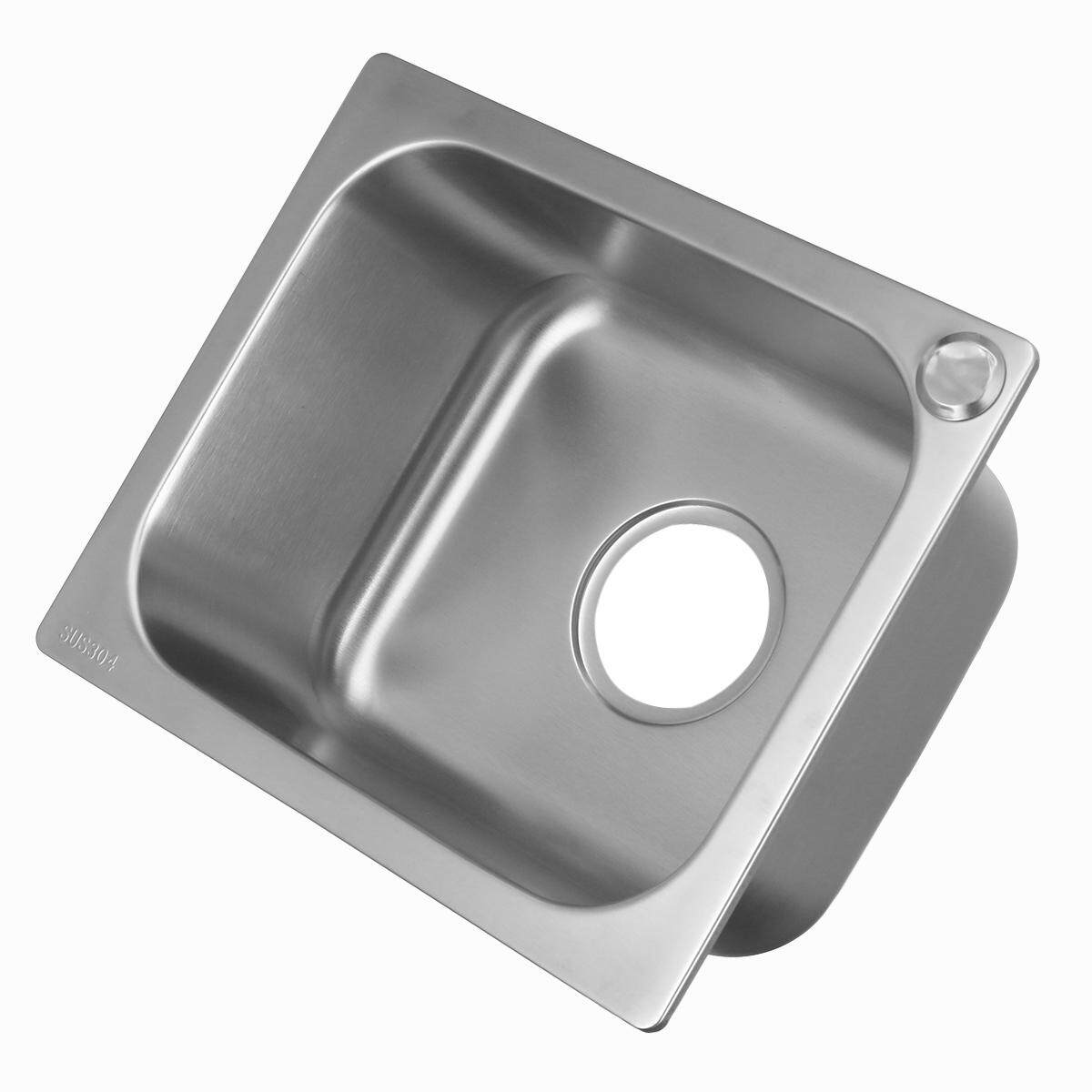 Inset Kitchen Sink Buy small bar single bowl inset kitchen sink stainless steel tub small bar single bowl inset kitchen sink stainless steel tub workwithnaturefo
