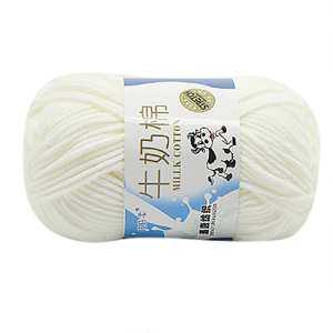 Hình thu nhỏ Fantnesty SALE Lot of 1PC 50g NEW Chunky Colorful Hand Knitting Scores Milk Cotton