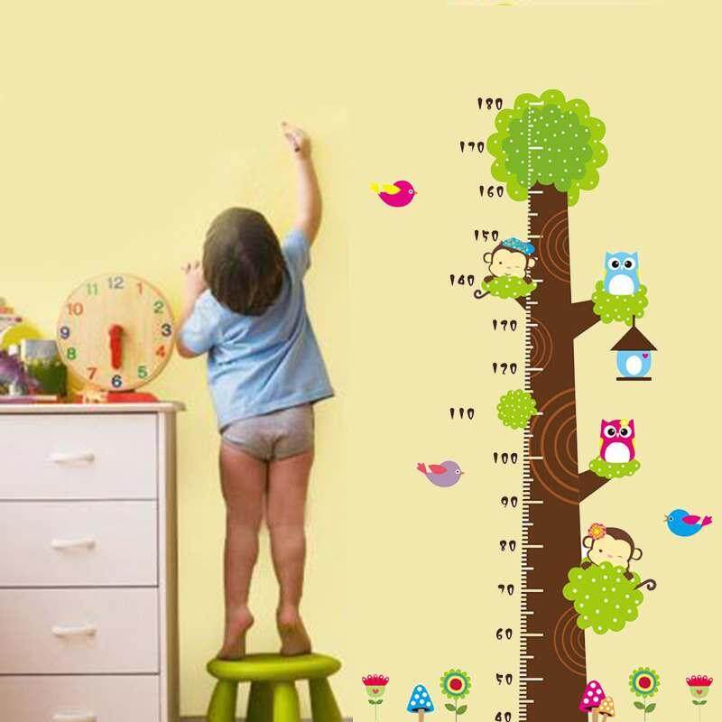 store PVC height sticker height wall sticker table height ruler ...