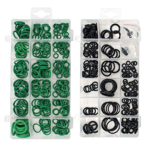 495PCS 36 Sizes O-ring Kit Black&Green Metric O ring Seals Rubber O ring Gaskets oil resistance 270pcs + 225pcs - intl Philippines