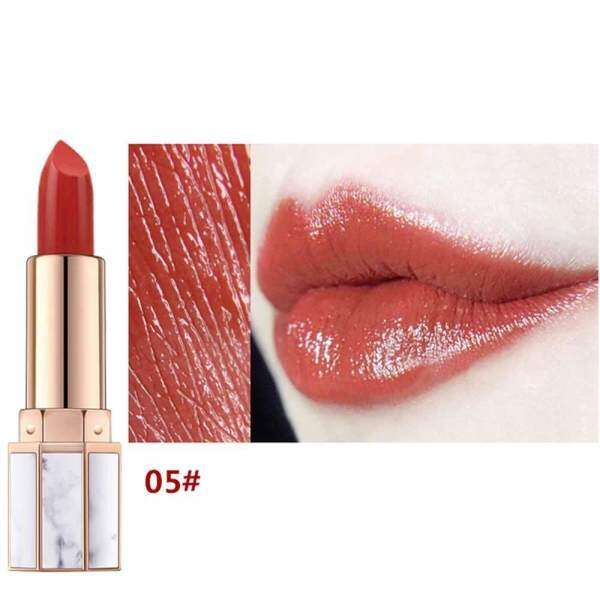 DXY HOJO Lipstick White Jade Marble Lips Makeup Brand Sale Waterproof Long Lasting Velvet Matte Lipstick Set 2018 Hot Red - intl Philippines