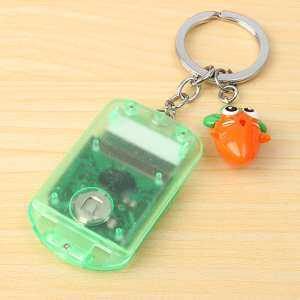 Hình thu nhỏ sản phẩm Mini Electronic Calculator Keychain Convenient Carry Account Tool Key Ring
