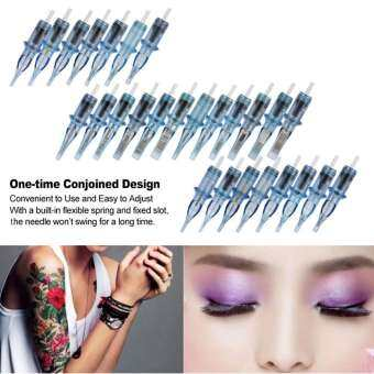 10pcs/set Disposable Makeup Tattoo Sterile Cartridge Needles RL/RM/M1/RS For Tattooing 11 RL