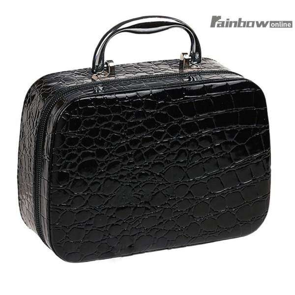 Pro Makeup Train Storage Bag Case Jewelry Box Cosmetic Artist Organizer - intl Philippines