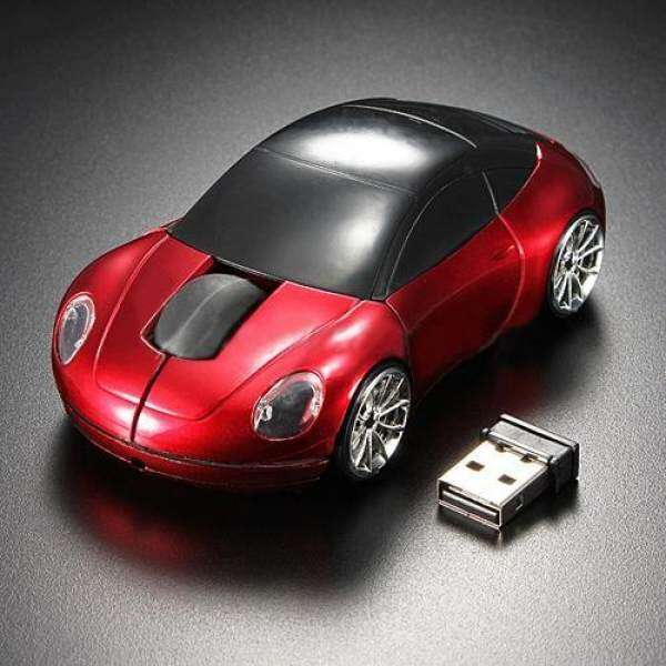 BODHI Racing Car Shaped 2.4GHZ Wireless Optical Mouse/Mice USB 2.0 For PC Laptop Malaysia