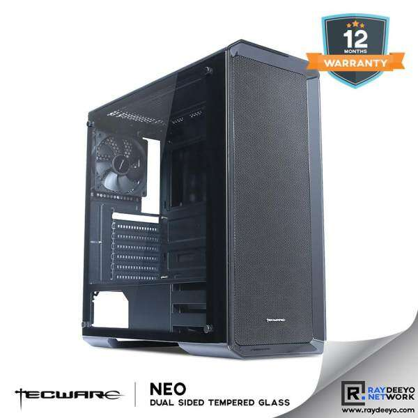 Tecware NEO Dual TG Gaming Dual Tempered Glass Gaming Chassis [ATX, Matx, Mini-ITX] Malaysia