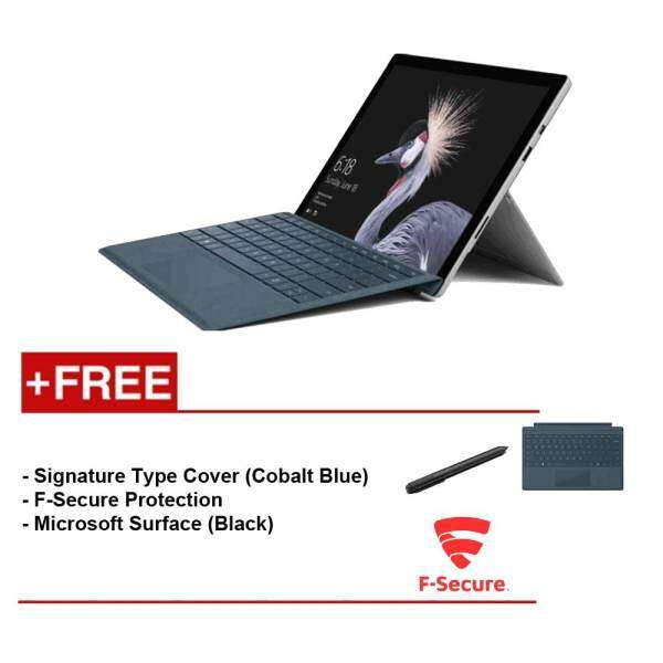 NEW Microsoft Surface Pro-Core I7 8G/256GB Free Surface Pro Type Cover(CobaltBlue)+ F-Secure EndPoint Protection+ Microsoft Surface Pen (Black) Malaysia
