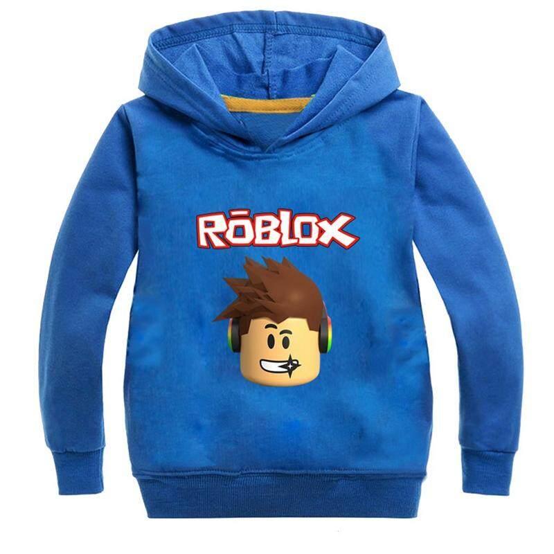 Kids Roblox Long Sleeve Hoodie s s Kids Clothing Casual Long Sleeve Printed Hooded Sweatshirt Pullover Tops