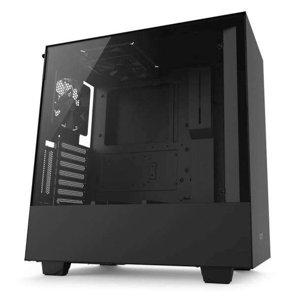 # NZXT H500i Compact Mid-Tower with Lighting and Fan Control # Matte Black | Matte White | Matte Black+Red Malaysia