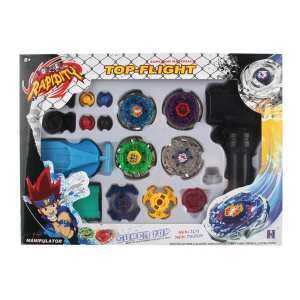 Hình ảnh Anything4you 4pcs/set Kids Constellation Alloy Battle Gyroscope Beyblade Top Gift - intl