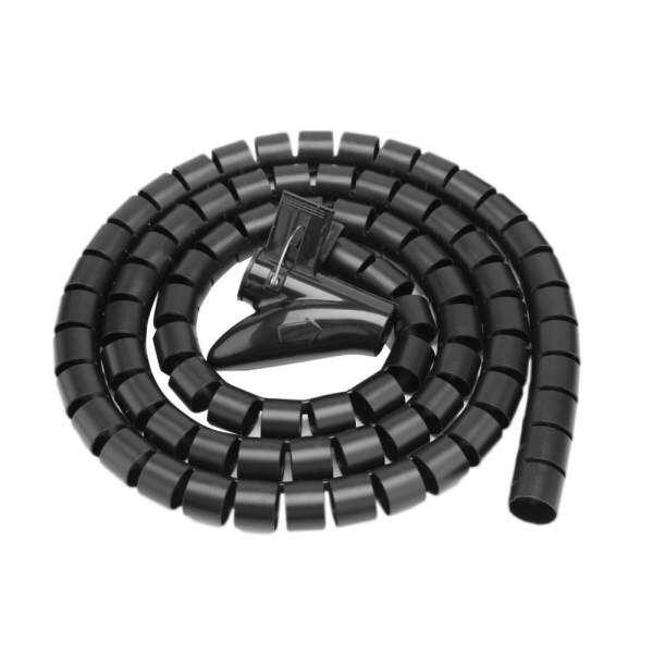 Spiral Wrap Tube Flexible Spiral Tube Cable Organizer Wire Wrap Cord ...