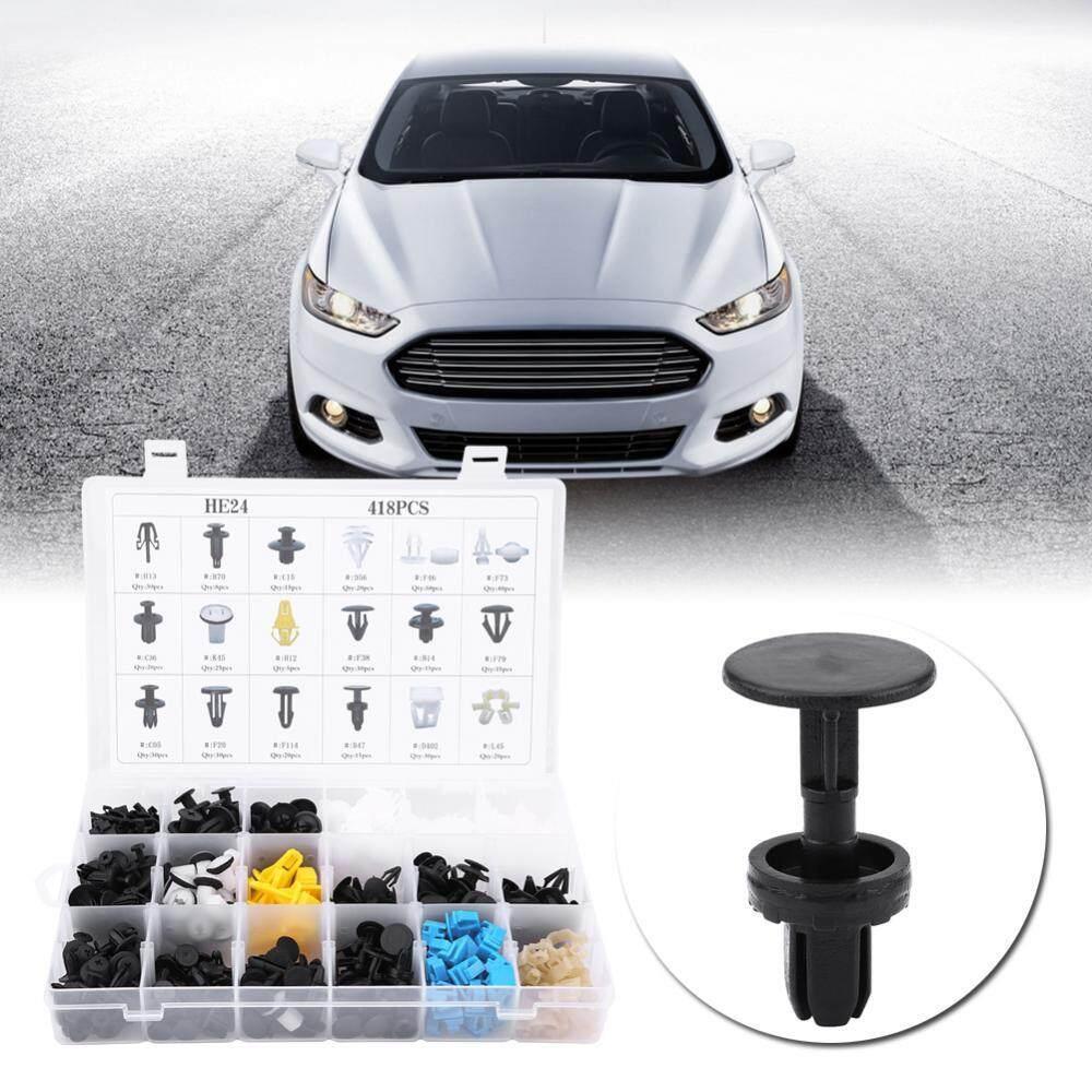 730pcs Car Body Trim Clips,17 Sizes Assorted Car Body Push Pin Rivet Trim Bumper Fixed Clamp Push Type Retainers