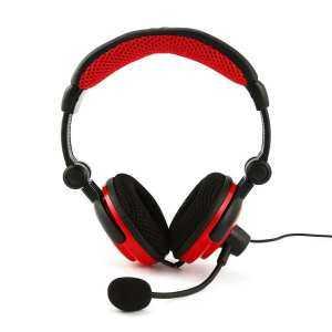 Chắc bạn cũng thích GOOD Headset Gaming Headphone for PS4 for XBOX360 Crystal Stereo Gaming Headphone black&red - intl