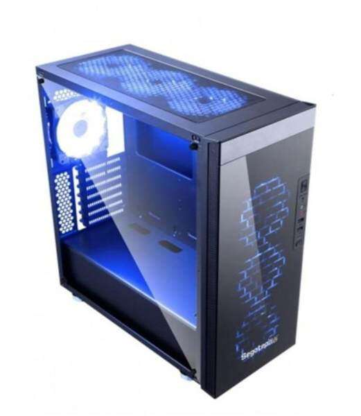 Segotep K8 RGB Tempered Glass FULL ATX Gaming Casing Malaysia
