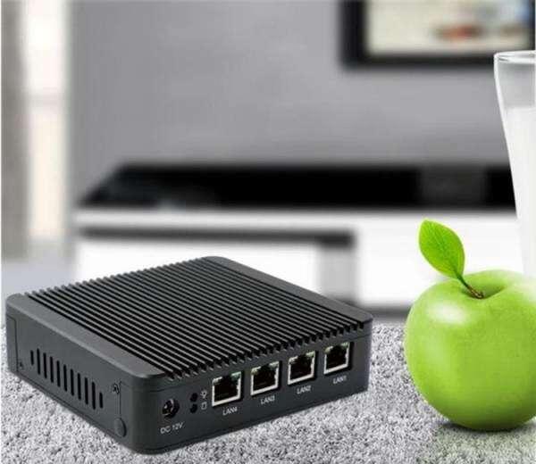 for pfsense Intel Celeron J1900 Fanless Mini PC with 8GB RAM + 64GB SSD  ,VGA and 4 X RJ45 LAN, Wifi - intl Philippines
