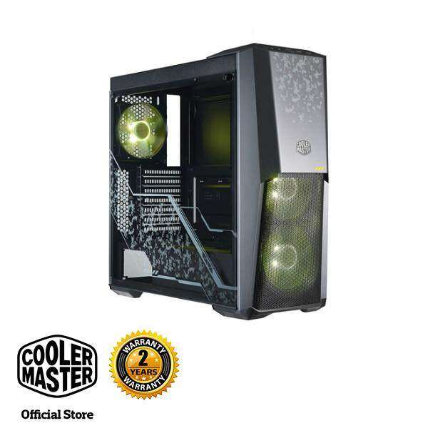 Cooler Master MasterBox MB500 TUF Gaming Edition ATX Gaming Case with Three 120mm RGB Fans Malaysia