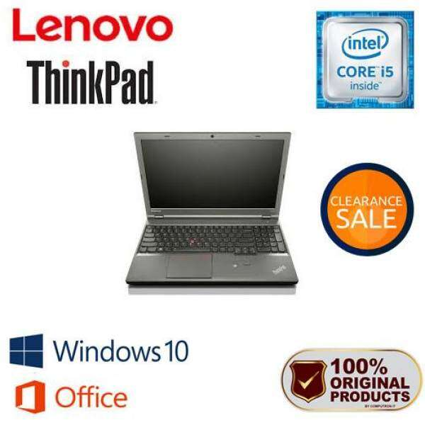 LENOVO THINKPAD L540 [15 INCH  CORE I5 VPRO  8GB RAM  1TB STORAGE] BOX PACK Malaysia