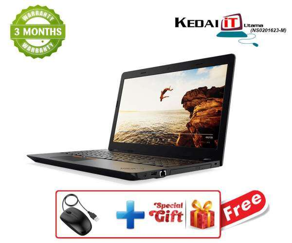 lenovo ThinkPad 0319 - i3 Laptop 2GB RAM 320 Hdd DvD Rw WebCam Windows 10 . 3 Months Warranty Free Mouse & Special Gift Refurb Malaysia