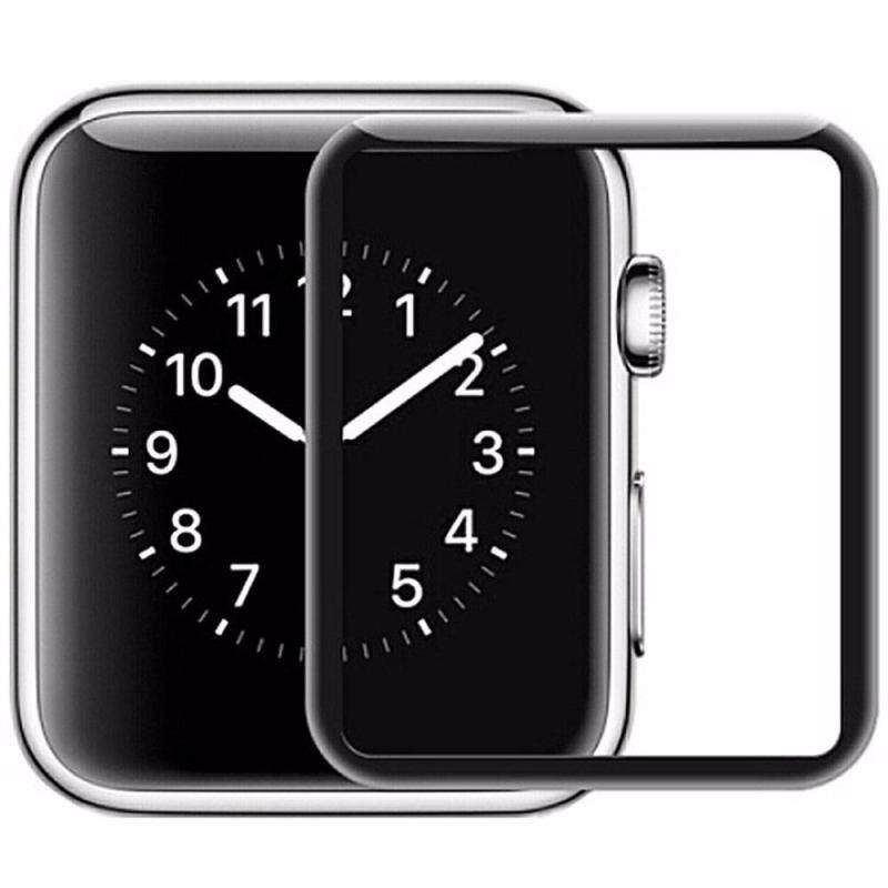 【3D 42mm】Apple Watch 3D Curved Tempered Glass Screen Protector with Edge to Edge