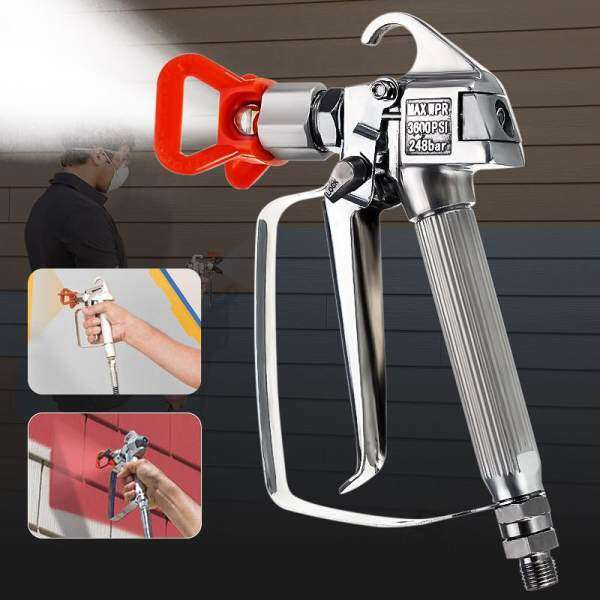 Airless Paint Spray Sprayer Gun 3600PSI w/Tip Guard For Graco TItan Wagner