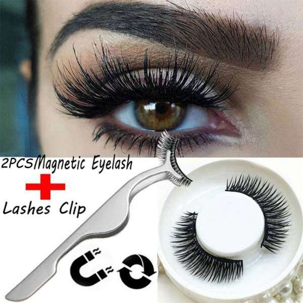 leegoal 1 Set 3D Eyelashes False Eyelashes+ 1Pcs False Eyelash Clip Philippines