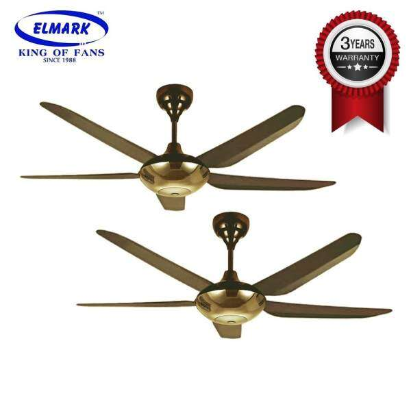 2 units elmark 56 inch remote ceiling fan winter 888 blackgold 2 units elmark 56 inch remote ceiling fan winter 888 blackgold twin pack malaysia mozeypictures Images