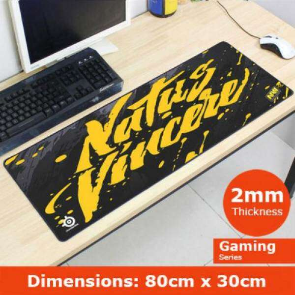 Steel Series Large Gaming Mouse Pad 80cm x 30cm Fnatic/Navi Malaysia