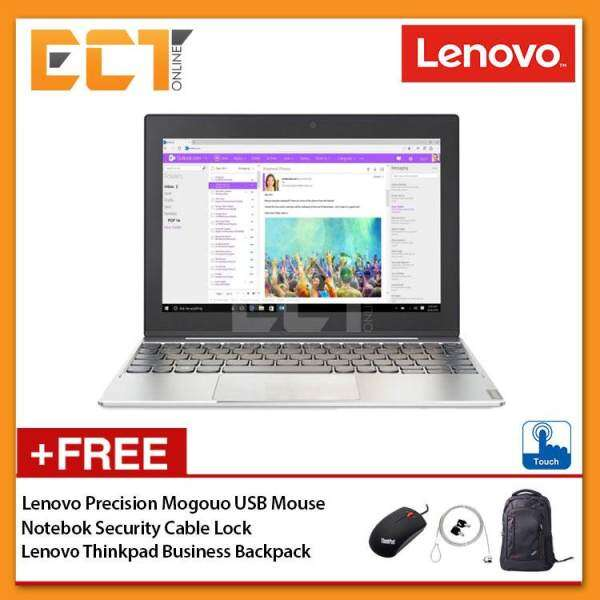 Lenovo MIIX 320-10ICR 80XF00GBMJ 2-In-1 Touch Laptop (x5-Z8350 1.92GHz,128GB,4GB,Intel,10.1 HD,W10P) - Silver Malaysia