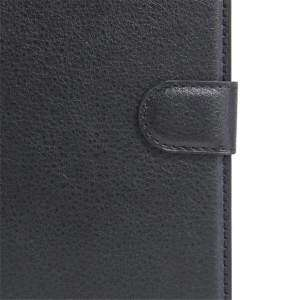 Leather Flip Cover Wallet Card Holder Case For Doogee Y100X / Y100