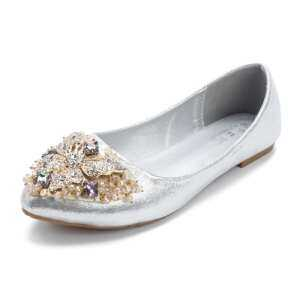 Fashion Plus Size Elegant Dance Soft Trendy Ballet Flat Loafers For Women - intl