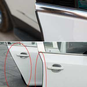 Ishowmall 5m Car Door Edge Guard Moulding Trim Rubber Strip Anti Scratch Protector Cover