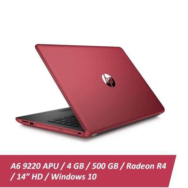 HP 14-bw054AU Laptop  AMD A6  4GB  500GB  AMD Radeon R4  14 - Red Malaysia