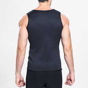Hình thu nhỏ sản phẩm Sweat Sauna Body Shaper Men Vest Thermo Neoprene Trainer Sliming Waist Belt