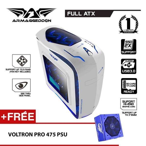 (PROMOTION) Armaggeddon Elvatron T11 Gaming PC Chassis Free Voltron Pro 475X Power Supply Malaysia