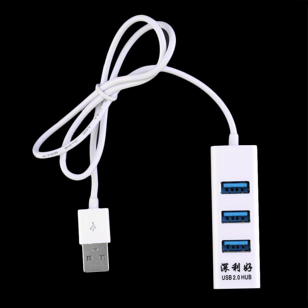 Hình thu nhỏ 4-Port USB 2.0 Multi HUB Splitter Expansion Cable Adapter For PC Laptop - intl