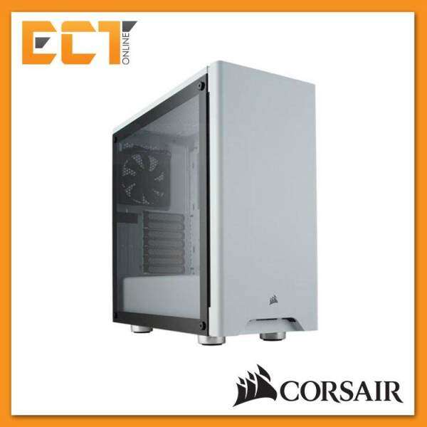 Corsair Carbide Series 275R Tempered Glass Mid-Tower Gaming Case - White/ Black Malaysia