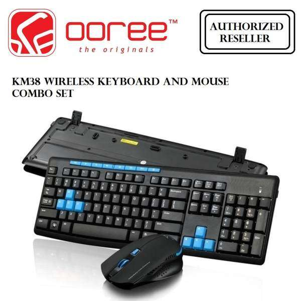 GENUINE KM38 ADVANCE WIRELESS OFFICE SERIES COMBO 2.4G KEYBOARD AND MOUSE Malaysia