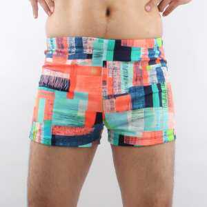 Hình thu nhỏ BestBaby Swimmat Swimming Trunks Men's Plain Swimming Trunks Men's Swimsuits Fashion Style Beach Pants Hot Springs Swimming Equipment.