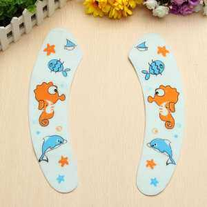 Hình thu nhỏ sản phẩm 1Pair Cute Cartoon Toilet Seat Carpet Home Toilet Warmer Seat Cover Lid Pad Soft Comfortable Baby Potty Seat Toilet Case Mat - intl