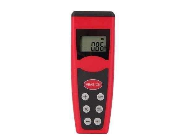 Ultrasonik mengukur alat pengukur jarak penunjuk jarak penemu