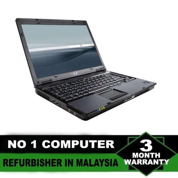 (Refurbished Notebook) HP Compaq 6910 14 inch LCD Laptop / Intel Core 2 Duo / 80GB Hard Disk / 2GB DDR2 Ram / Windows XP Malaysia