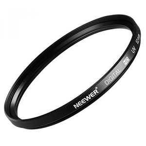 Hình thu nhỏ Neewer 52MM UV Lens Protection Filter for Nikon D7100 D5300 D5200 D5100 D5000 D3300 D3200 D3100 D3000 D90 D80 DSLR Camera