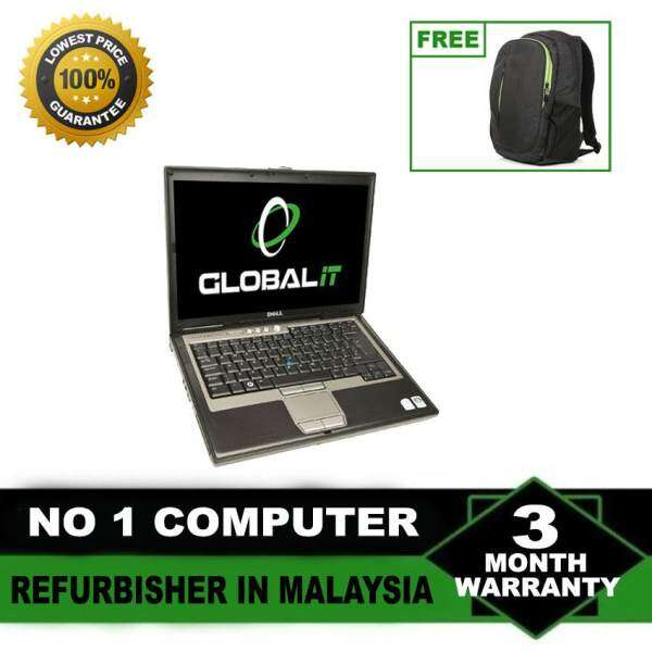(Refurbished Notebook) Dell Latitude D630 14 LCD Laptop / Intel Core 2 Duo / 80GB Hard Disk / 2GB DDR2 Ram / Windows XP / Factory Refurbished Malaysia